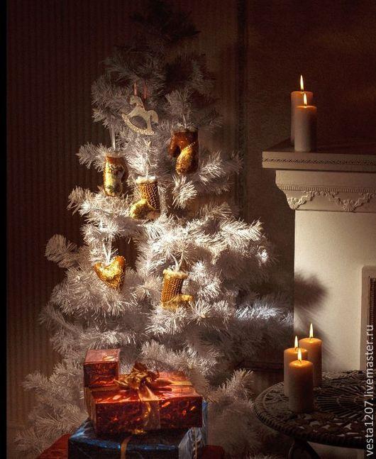 Рождественское чудо- пряничные игрушки своими руками.
