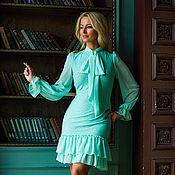 Одежда ручной работы. Ярмарка Мастеров - ручная работа Платье БЛ 44. Handmade.