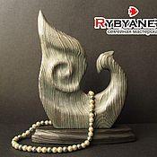 """Для дома и интерьера ручной работы. Ярмарка Мастеров - ручная работа """"Птица Феникс"""", деревянная скульптура. Handmade."""