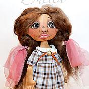 Куклы и игрушки ручной работы. Ярмарка Мастеров - ручная работа Интерьерная кукла тыквоголовка Шейла. Handmade.