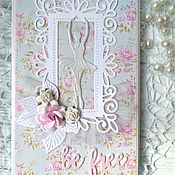 Открытки handmade. Livemaster - original item !the handmade card. on all occasions. BE FREE/ Be Free. Handmade.