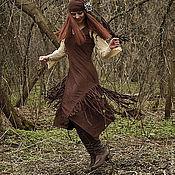Одежда ручной работы. Ярмарка Мастеров - ручная работа Платье Индейская весна. Handmade.