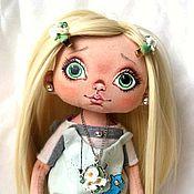 Куклы и игрушки ручной работы. Ярмарка Мастеров - ручная работа пряничек (летний)продана. Handmade.
