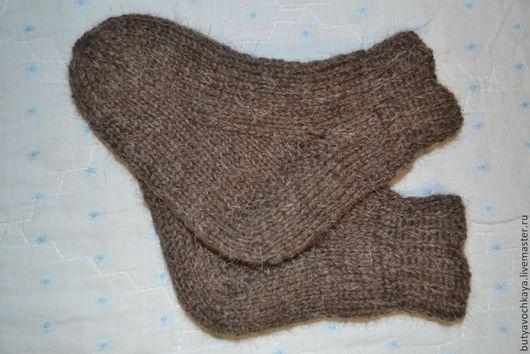 Носки, Чулки ручной работы. Ярмарка Мастеров - ручная работа. Купить Детские носочки из чистой шерсти.. Handmade. Темно-серый