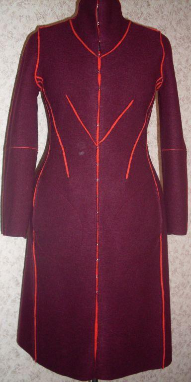 Верхняя одежда ручной работы. Ярмарка Мастеров - ручная работа. Купить пальто. Handmade. Шерсть