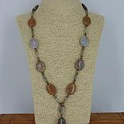 Украшения handmade. Livemaster - original item Necklace made of natural stones Jasper and labradorite. Handmade.