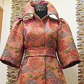 Coats handmade. Livemaster - original item Author`s jacquard coat
