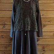 Одежда handmade. Livemaster - original item Zaversnik wool hand knitted. Handmade.