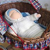 Вальдорфские куклы и звери ручной работы. Ярмарка Мастеров - ручная работа Малыш с комплектом одежды (32 см). Handmade.