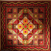 Для дома и интерьера handmade. Livemaster - original item Patchwork quilt bedspread MOSCOW KREMLIN. Handmade.