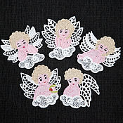 Подарки к праздникам handmade. Livemaster - original item Angels. A set of Christmas ornaments.. Handmade.