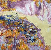 Картины и панно ручной работы. Ярмарка Мастеров - ручная работа Картина Осень на Белой. Handmade.