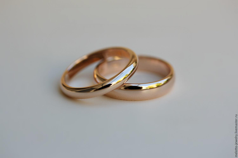 11b294fc5bbf Свадебные украшения ручной работы. Ярмарка Мастеров - ручная работа. Купить  Классические узкие обручальные кольца