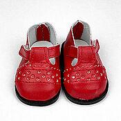 handmade. Livemaster - original item Accessories for dolls and toys: Shoes for dolls 6,5 cm. Handmade.
