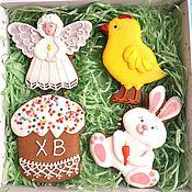 Сувениры и подарки handmade. Livemaster - original item Set of Easter cakes. Gingerbread Easter.. Handmade.