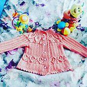 Одежда ручной работы. Ярмарка Мастеров - ручная работа Кофточка для девочки. Handmade.