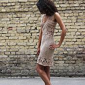 Одежда ручной работы. Ярмарка Мастеров - ручная работа Платье вязаное. Handmade.