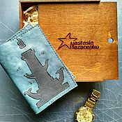 Сумки и аксессуары handmade. Livemaster - original item Passport cover. Handmade.