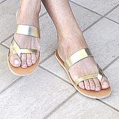 """Обувь ручной работы. Ярмарка Мастеров - ручная работа Кожаные сандалии """"классические"""" 2. Handmade."""