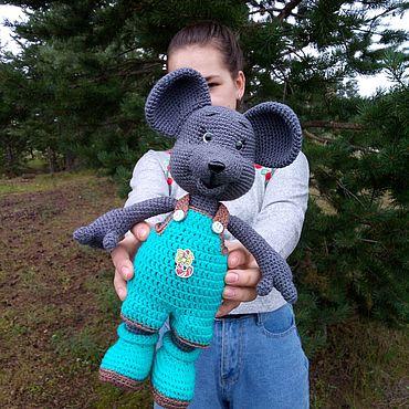 Куклы и игрушки ручной работы. Ярмарка Мастеров - ручная работа Мышонок Милашонок. Handmade.