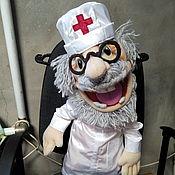 Куклы и игрушки handmade. Livemaster - original item Dr. Feelgood. PUPETS.PUPPETS.. Handmade.