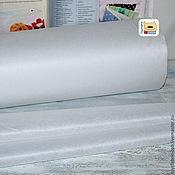Материалы для творчества ручной работы. Ярмарка Мастеров - ручная работа Флизелин клеевой 40г/м белый точечный (Флиз40). Handmade.