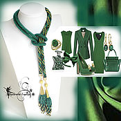 Украшения handmade. Livemaster - original item Lariat beaded tie