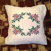 Для дома и интерьера ручной работы. Ярмарка Мастеров - ручная работа подушка декоративная нежность. Handmade.