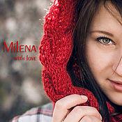 Аксессуары handmade. Livemaster - original item Scarf - snod knitted For Ellona.. Handmade.