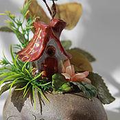 Сувениры и подарки handmade. Livemaster - original item House autumn fairies. Handmade.