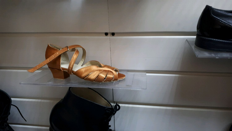 Танцевальные туфли для девочки, Босоножки, Ярославль,  Фото №1