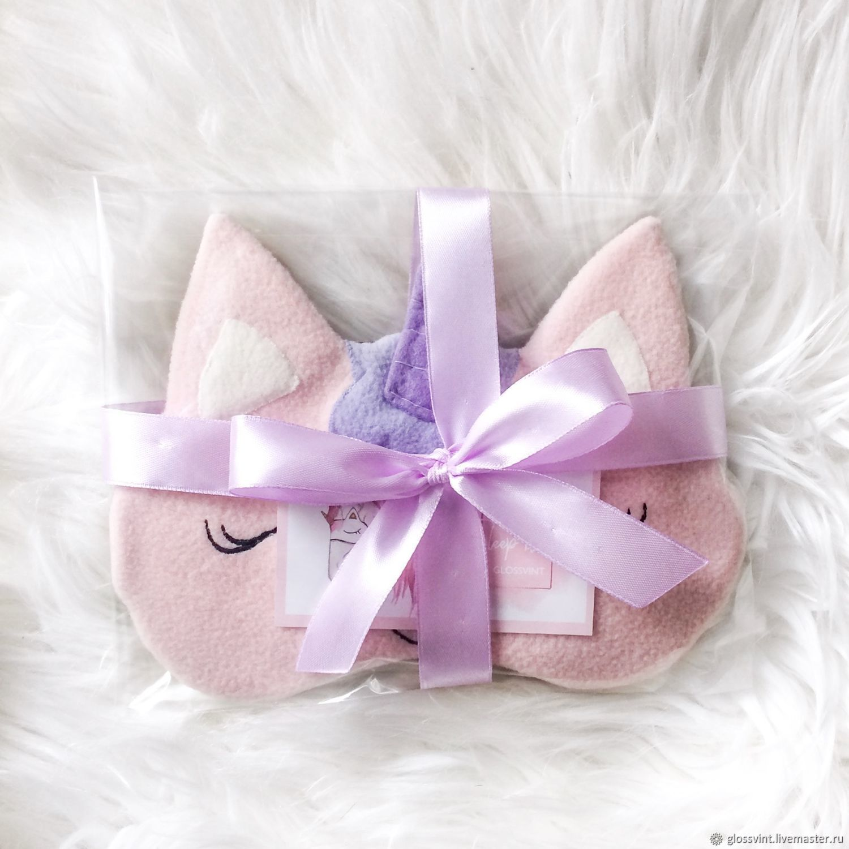 56de2f2e0b2 Online shopping on Underwear   Pajamas handmade. Order Sleep mask   Unicorn . glossvint. Livemaster.