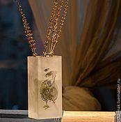 Для дома и интерьера ручной работы. Ярмарка Мастеров - ручная работа Ваза матовая с листочками. Handmade.