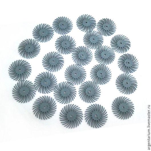 Другие виды рукоделия ручной работы. Ярмарка Мастеров - ручная работа. Купить Шлифовальные насадки для Dremel №400 (синий). Handmade.