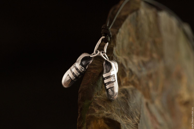 Кулоны, подвески ручной работы. Ярмарка Мастеров - ручная работа. Купить Подвеска «Скальные туфли». Handmade. Горы, альпинизм