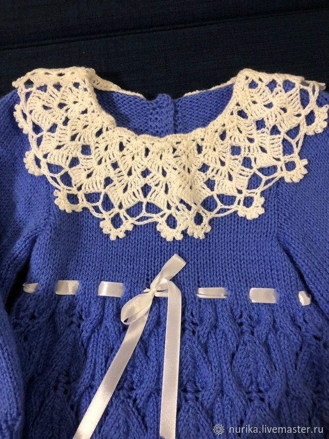 Нарядное платье для малышки 1 год