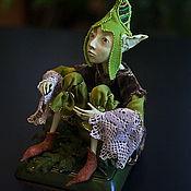 """Куклы и игрушки ручной работы. Ярмарка Мастеров - ручная работа Кукла """"Цветочный эльф"""". Handmade."""
