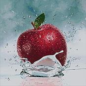 Материалы для творчества handmade. Livemaster - original item Embroidery kits: Apple. Handmade.