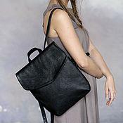 Сумки и аксессуары handmade. Livemaster - original item Backpack genuine full grain leather