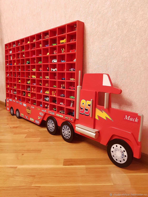 """Полка-грузовик """" MEGA MACK 120 ячеек"""", Полки, Москва,  Фото №1"""