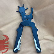 """Инструменты для работы с кожей ручной работы. Ярмарка Мастеров - ручная работа Пробойник """"McAllister"""" револьверного типа. Handmade."""