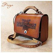 Classic Bag handmade. Livemaster - original item Women`s handbag