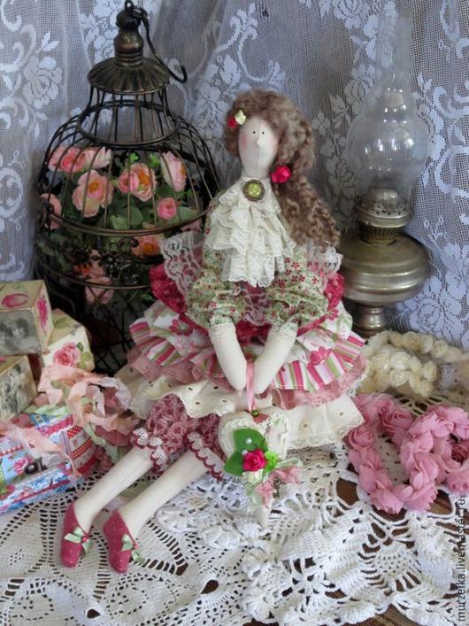 Куклы Тильды ручной работы. Ярмарка Мастеров - ручная работа. Купить Кукла в стиле тильда Изабель. Handmade. Разноцветный