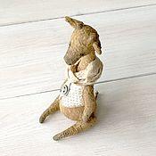 Куклы и игрушки handmade. Livemaster - original item Teddy giraffe, 15 cm. Handmade.