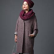 Одежда handmade. Livemaster - original item Woolen coat oversized Anelka. Handmade.