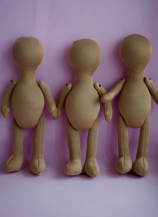 Куклы тыквоголовки ручной работы. Ярмарка Мастеров - ручная работа. Купить Заготовка для куклы. Handmade. Бежевый, кукла, кукла Тильда