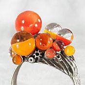Rings handmade. Livemaster - original item Ring Autumn fruits. Handmade.