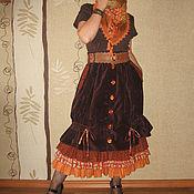 """Одежда ручной работы. Ярмарка Мастеров - ручная работа Юбка """"Оттенки рыжего"""". Handmade."""