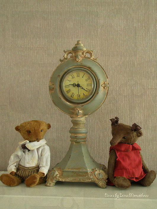 Мишки Тедди ручной работы. Ярмарка Мастеров - ручная работа. Купить Джон и Джес. Handmade. Коричневый, немецкая вискоза