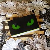 Косметика ручной работы. Ярмарка Мастеров - ручная работа Взгляд кошки. Сувенирное мыло.. Handmade.